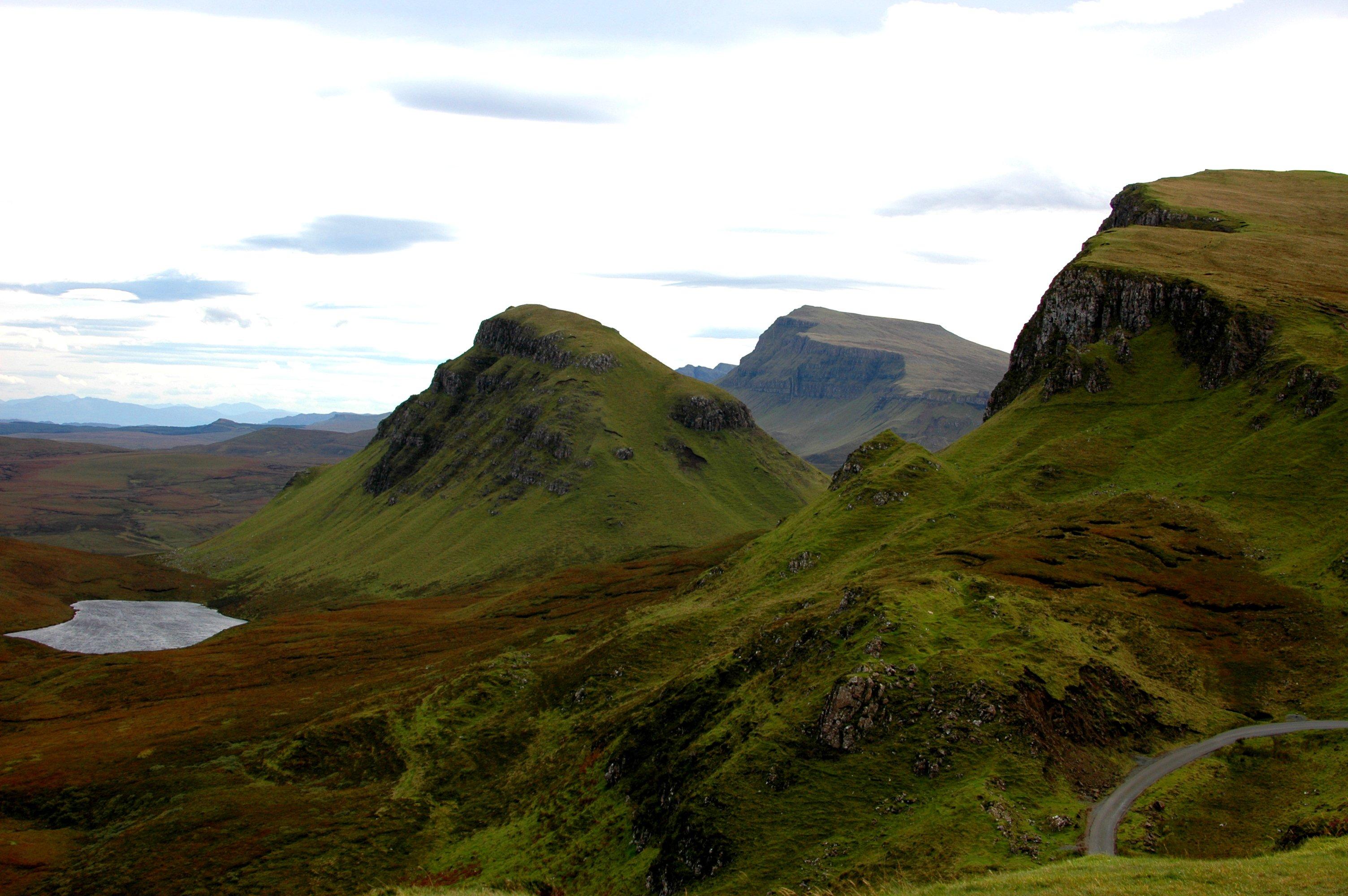 Hiking the Quiraing on the Isle of Skye
