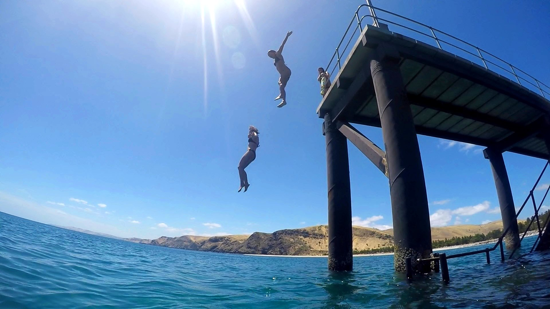 17 Easy Ways to Save Money on Your Next Trip - Jetty Jumping, Rapid Bay, South Australia