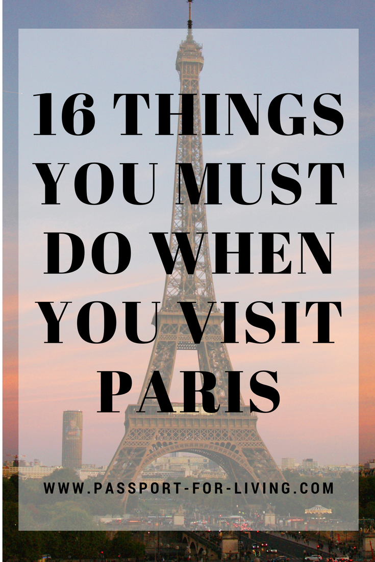16 Cool Things to Do in Paris #paris #france #parisguide #travel #europe #visitparis