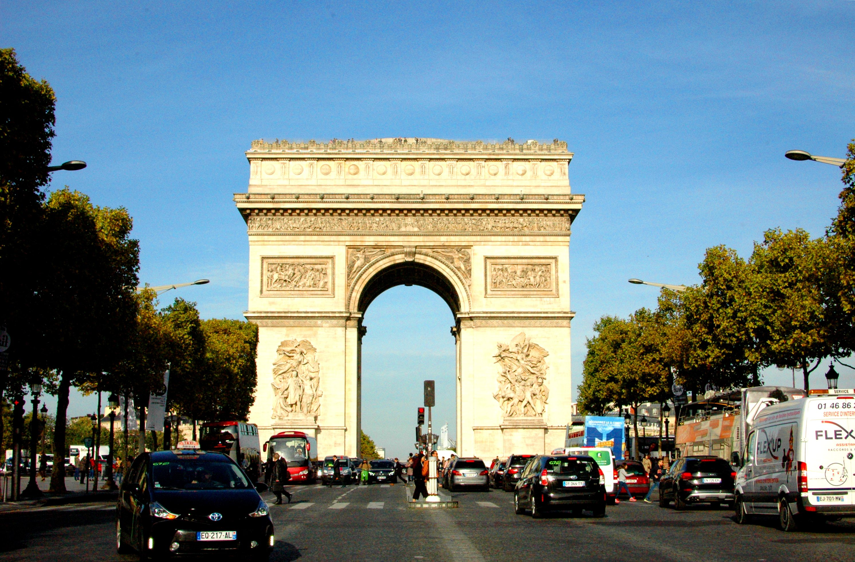16 Cool Things to Do in Paris - Arc de Triomphe. Champs Elysees
