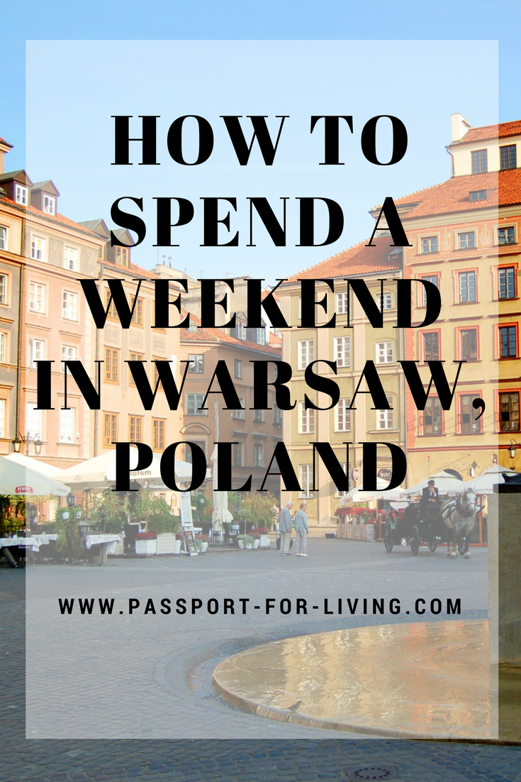 This Warsaw travel guide will show you how to spend a weekend in Warsaw, Poland #poland #warsaw #oldtown #europe #travel #travelblog #travelinspiration #traveldestination #wanderlust