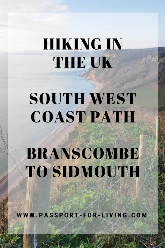South West Coast Path Branscombe to Sidmouth - UK Hiking - #hiking #uk #england #britain #uktravel #southwest #southwestcoastpath #travel #wanderlust #coastpath #walking #outdoors #branscombe #sidmouth #devon