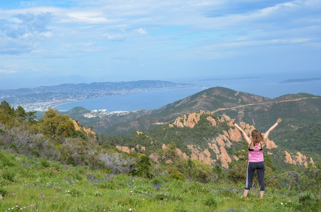 Hiking in the South of France #travel #lessons #lifelessons #gratitude #blessings #wanderlust #selfdevelopment #france #esteral #hiking #adventure #success #greatoutdoors