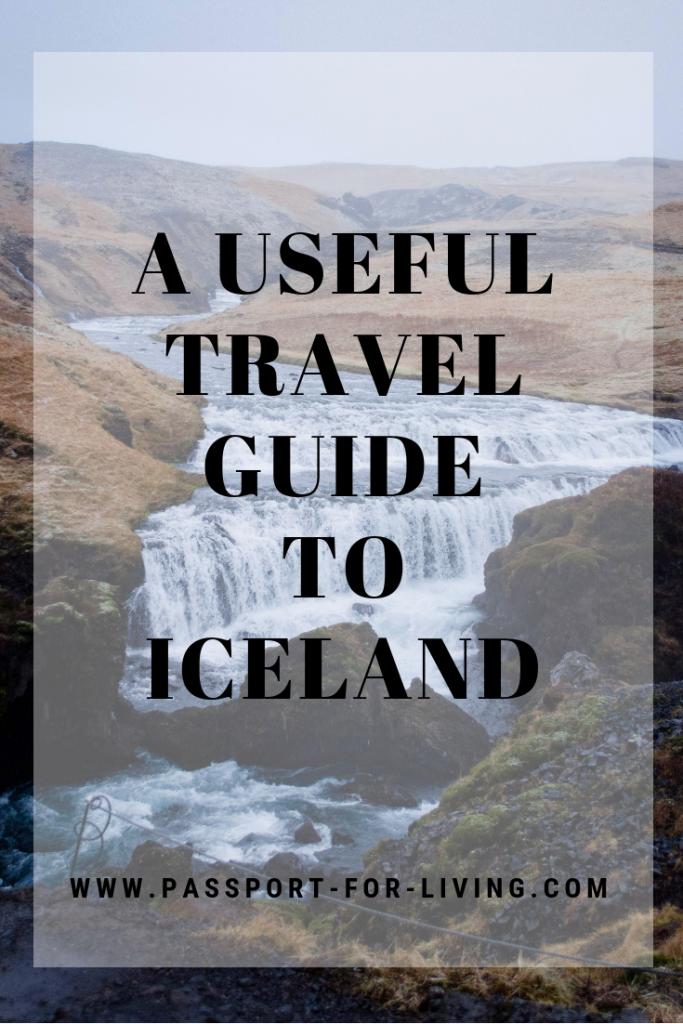 A Useful Travel Guide to Iceland - #iceland #europe #goldencircle #travelguide #icelandguide #traveliceland #visiticeland #waterfalls #travelinspiration #wanderlust #destinations #travelblogger #reykjavik #skogafoss #gullfoss #tectonicplates