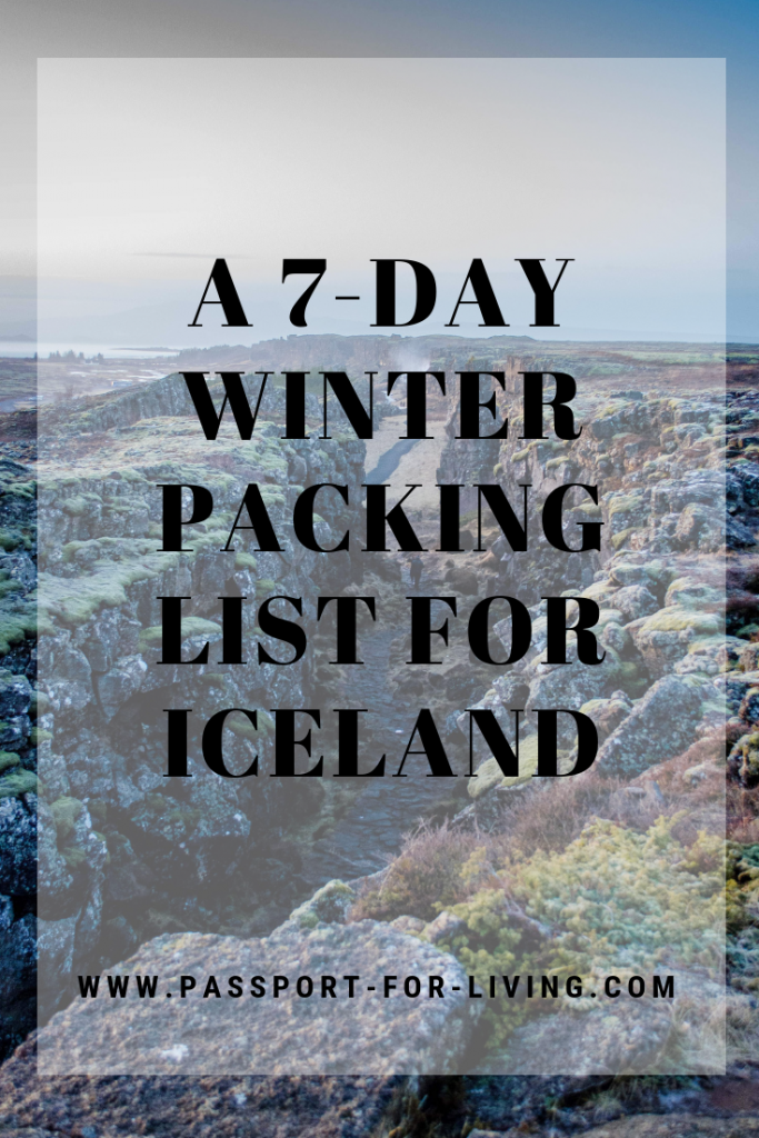 A 7-Day Winter Packing List for Iceland #travel #iceland #wanderlust #icelandtravel #goldencircle #packinglist #icelandtrip #icelandvacation #handluggage #travelblog #travelblogger #europe #europetravel