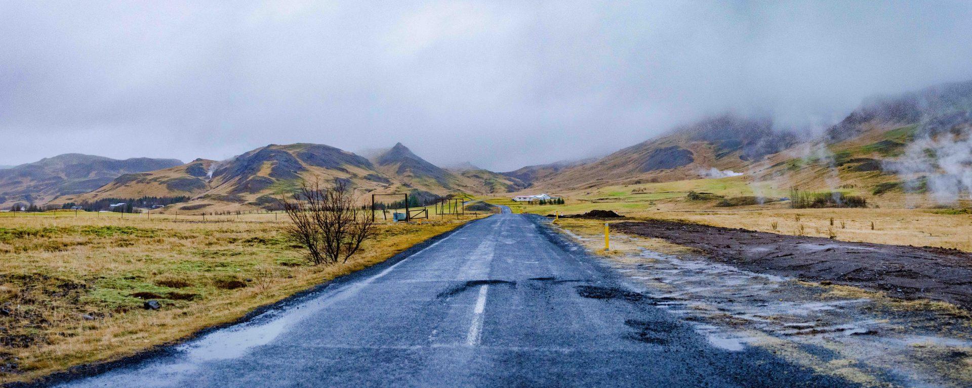 Hiking to Reykjadalur Hot Spring, Iceland